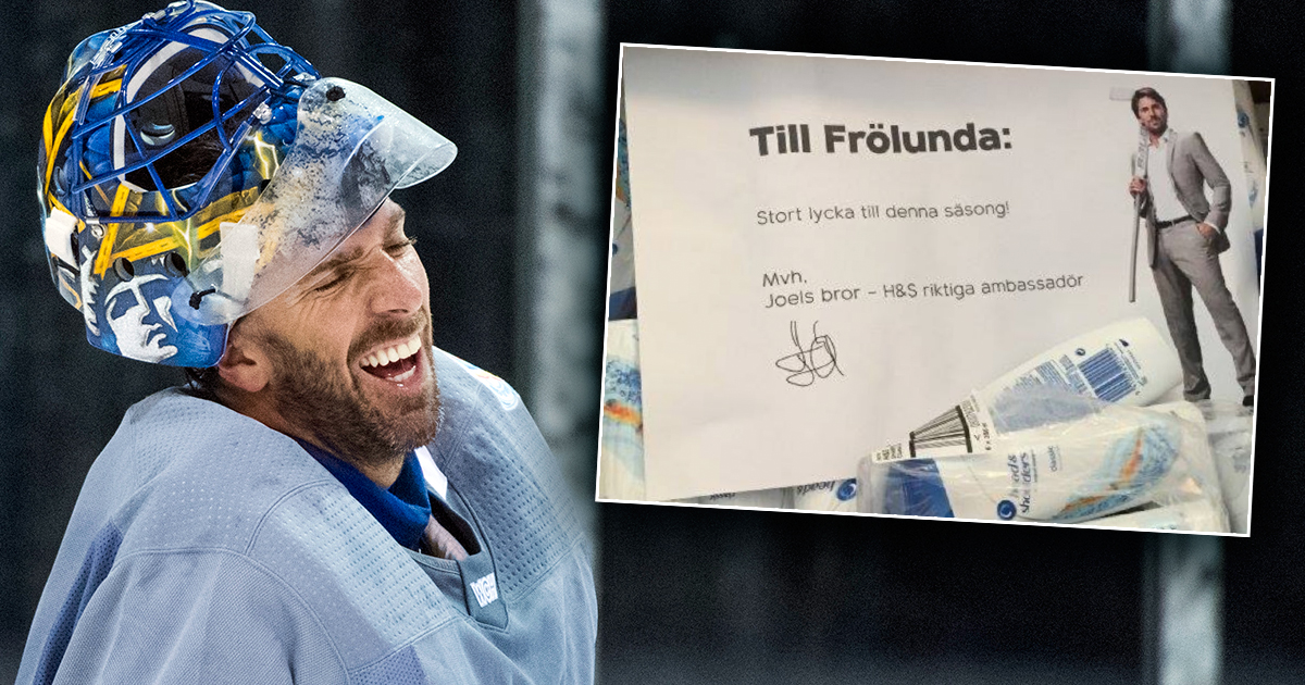 Henrik Lundqvists Nya Frackis Mitt Under World Cup Det Kom Ett