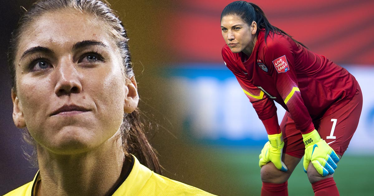 Hope Solo, USA