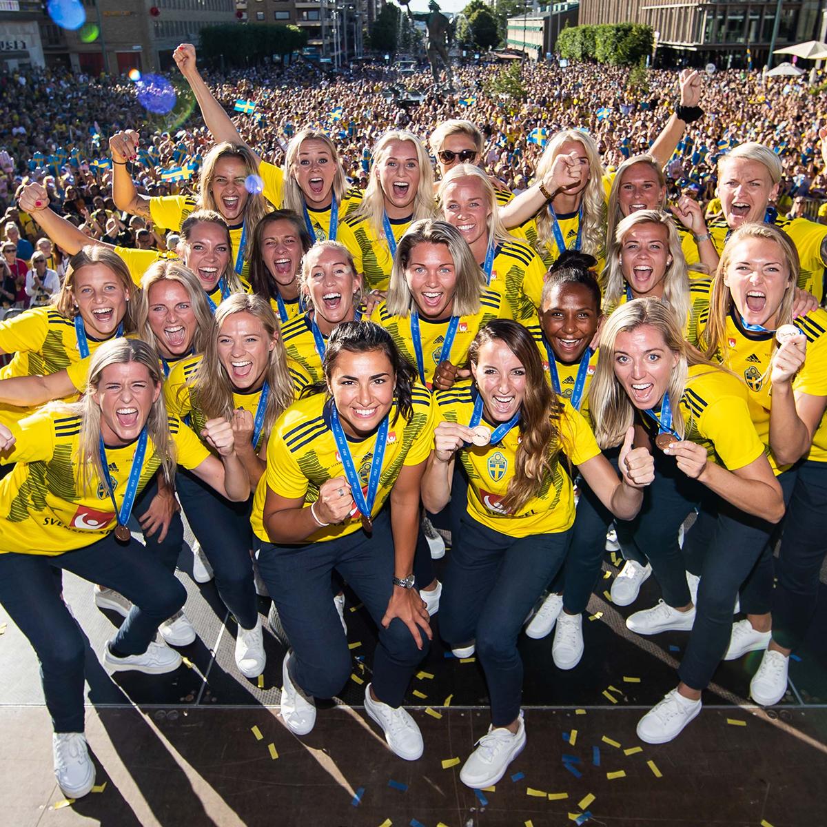 Sverige, Fotbolls-VM