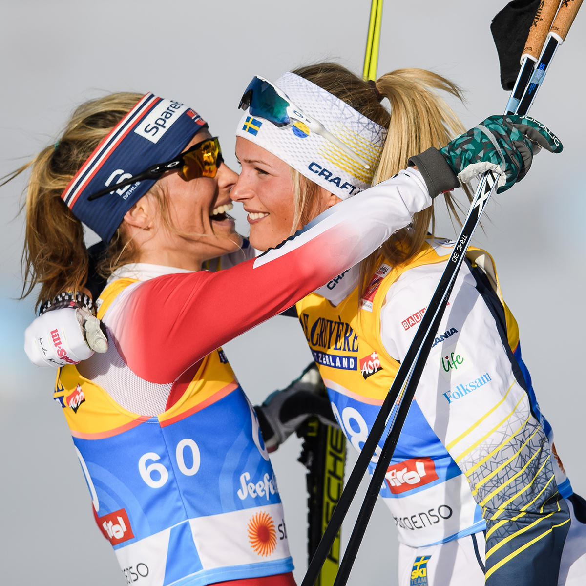 Therese Johaug, Frida Karlsson