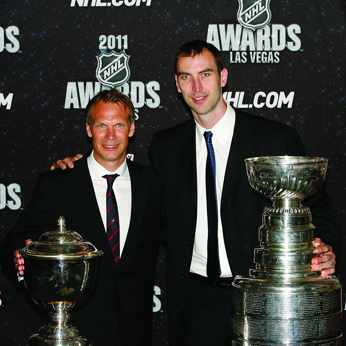 Nicklas Lidström, Detroit Red Wings, Zdeno Chara, Boston Bruins