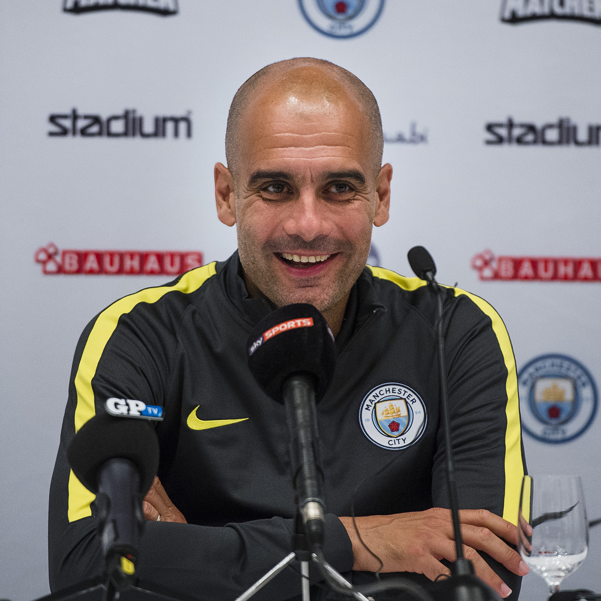 Pep Guardiola, Premier League
