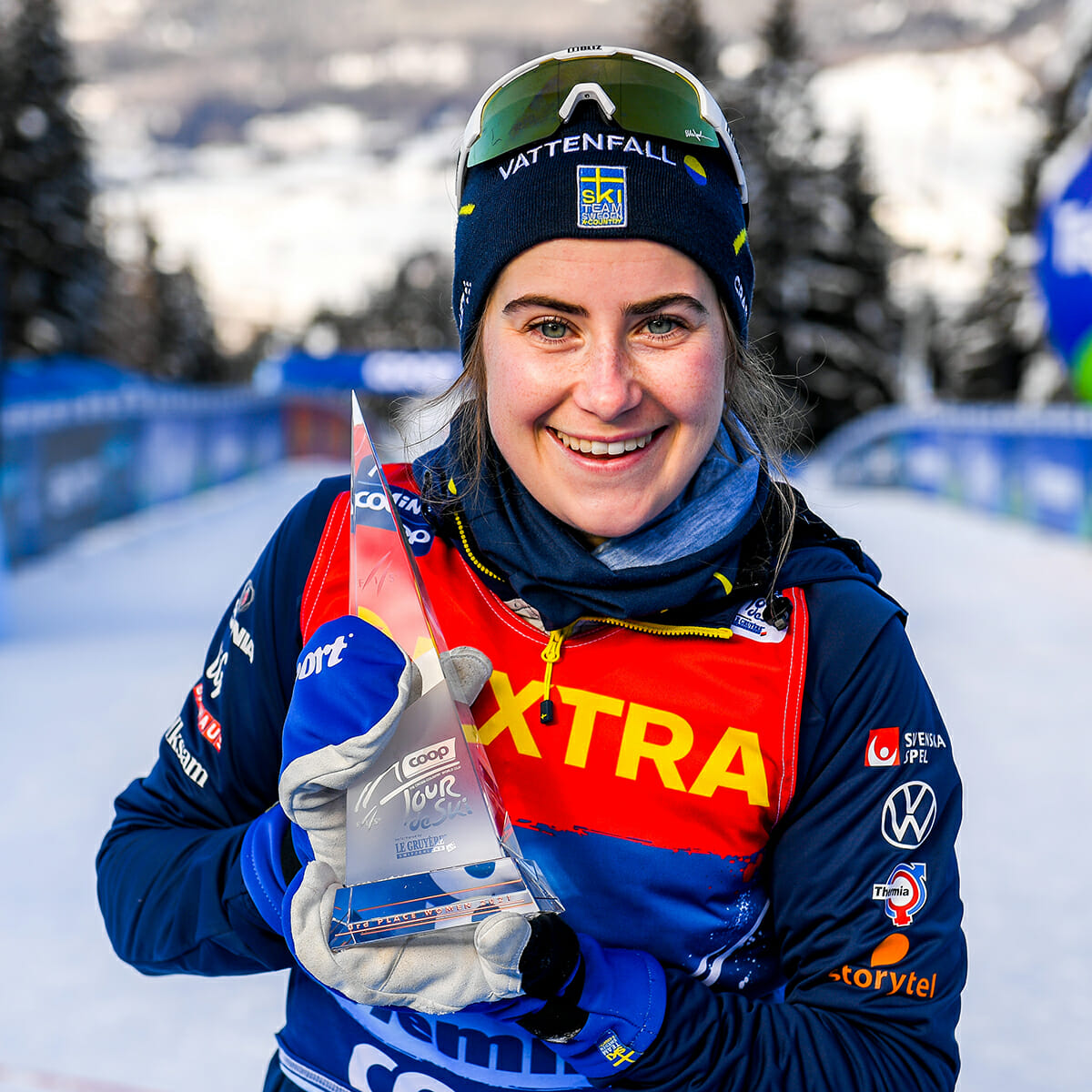 Ebba Andersson, skidor