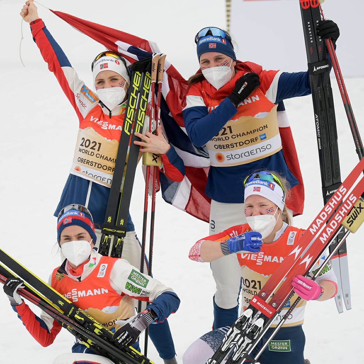Norge, skidor
