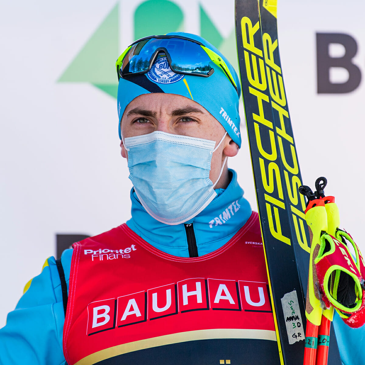 Anton Persson, skidor